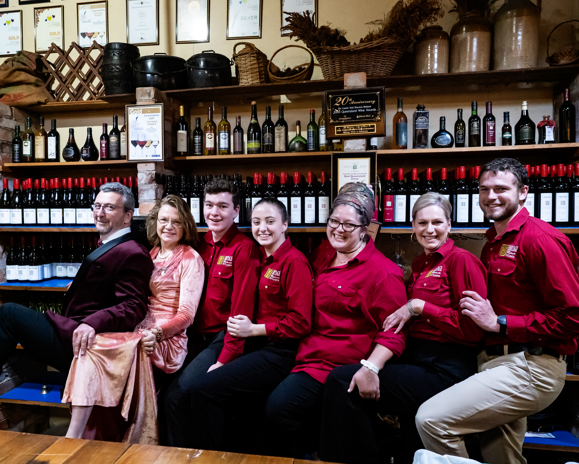 The hospitality team